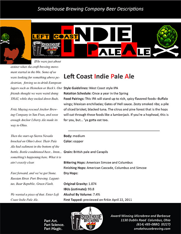 Smokehouse Indie Pale Ale