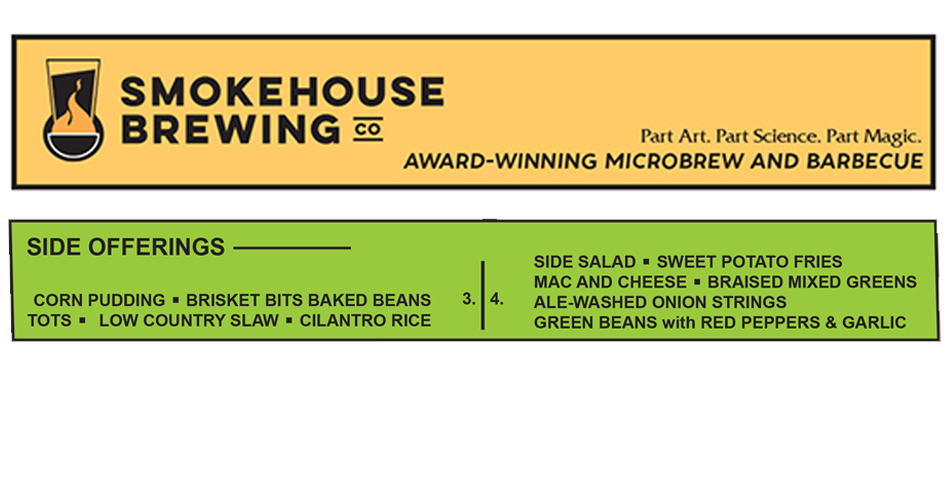 Smokehouse Brewing Company Sides