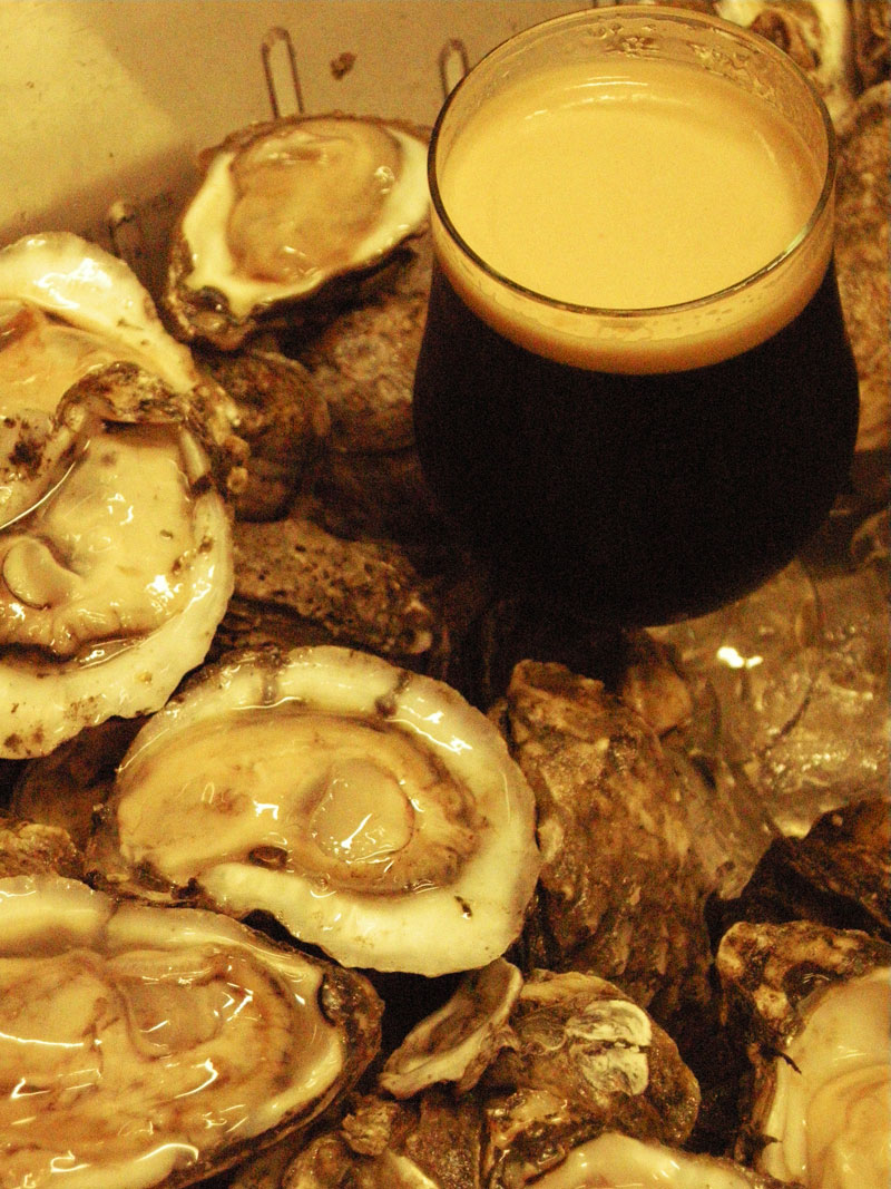 Smokehouse Oysters and Stout